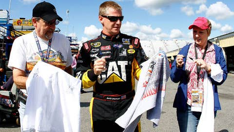 Jeff Burton gives his support