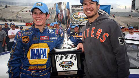 Ryan Truex and Martin Truex Jr.