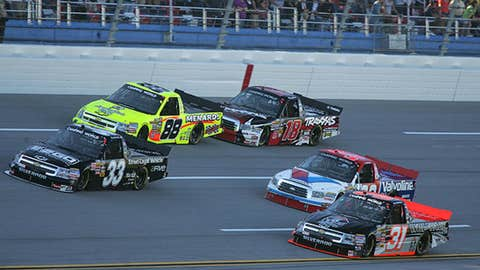 Hornaday leads the way