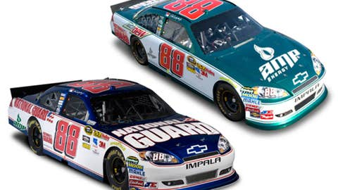 No. 88 Amp Energy/National Guard Chevrolet