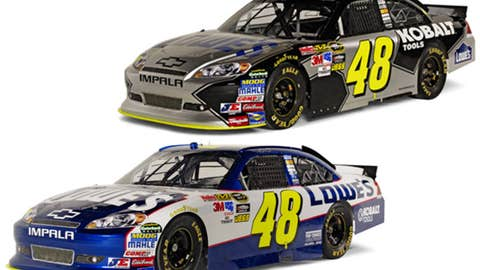 No. 48 Lowe's Chevrolet