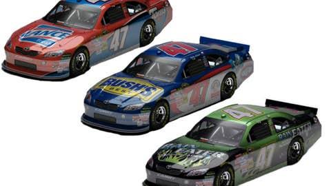 No. 47 Kingsford/Clorox/Little Debbie Toyota