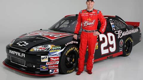 No. 29 Budweiser Chevrolet