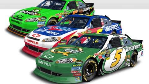 No. 5 GoDaddy.com Chevrolet
