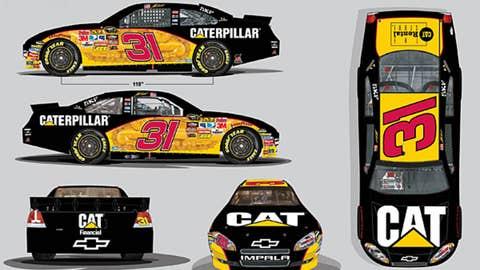 No. 31 Caterpillar Chevrolet