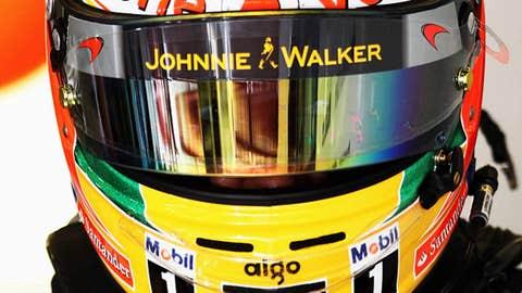 Lewis Hamilton of Great Britain and McLaren