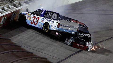 Kyle Busch, parked for two races, $50,000 fine