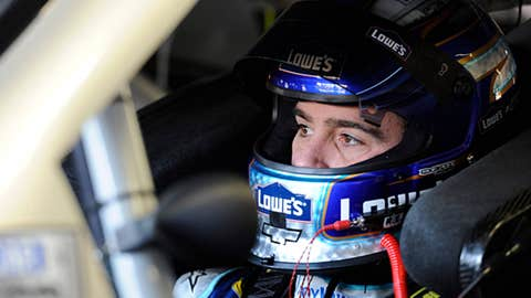 Jimmie Johnson, 55 points back