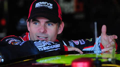 Jeff Gordon, 81 points back