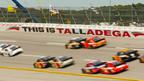 Talladega Cup race, Oct. 7