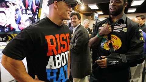 John Cena and Justin Tuck