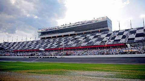 Best comeback: Daytona track surface
