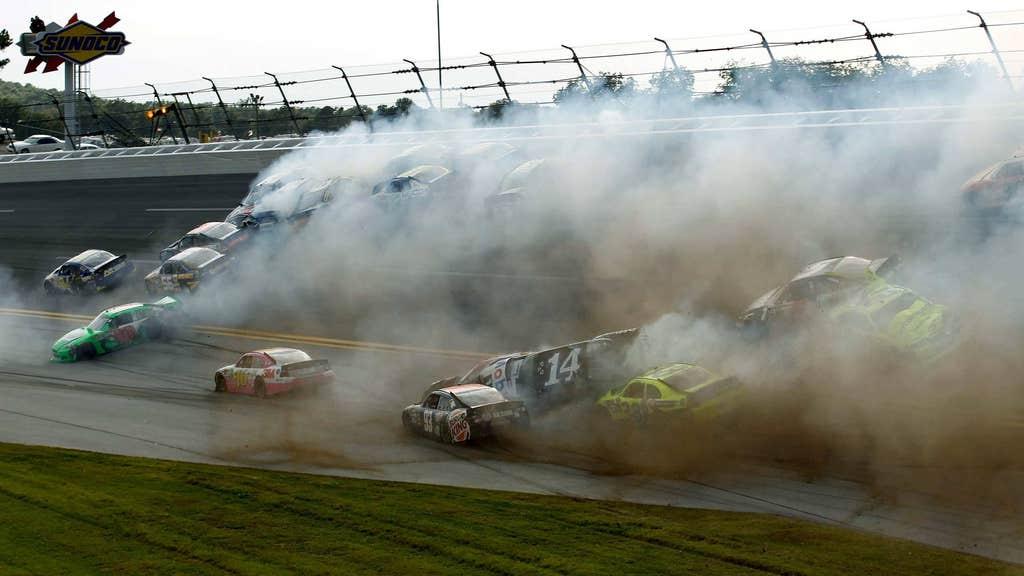 Final-lap crash mars Talladega race   FOX Sports