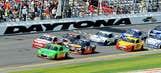 NASCAR Sprint Cup Budweiser Duels action