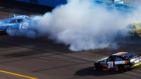 Smoke the tires