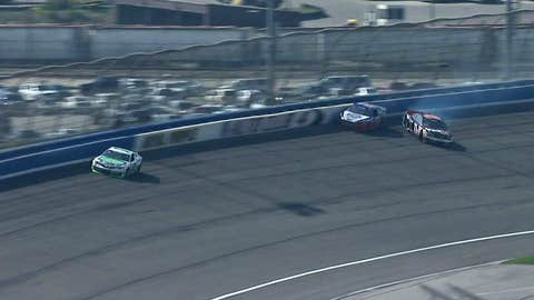 Logano vs. Hamlin, March 2013