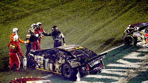 Harvick vs. Nemechek, May 21, 2005