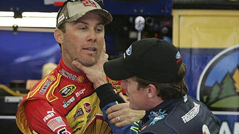 Harvick vs. Edwards, Oct. 9, 2008