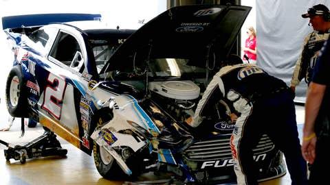 Kez car crunched
