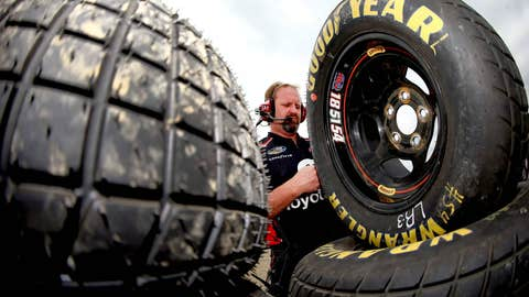 Big ol' tires