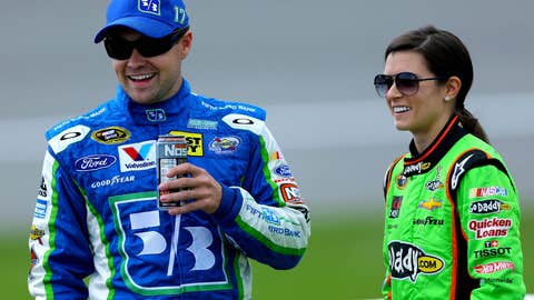 NASCAR'S power couple