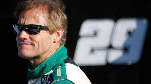 Kenny Wallace looks RIR over
