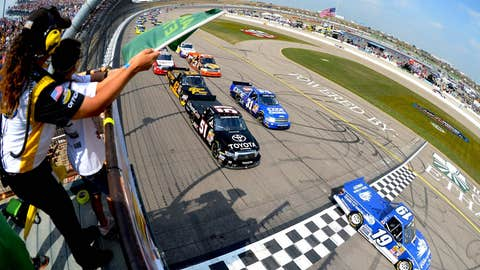 Green flag in the air!