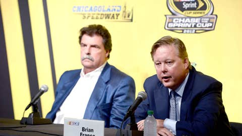 NASCAR'S TOP BRASS