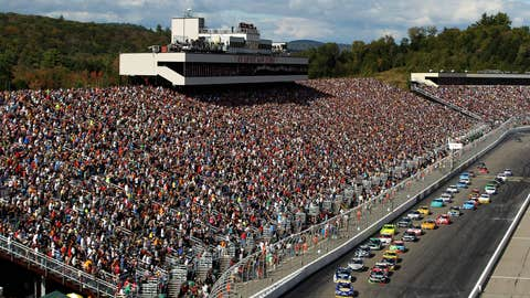 Stands full at NHMS