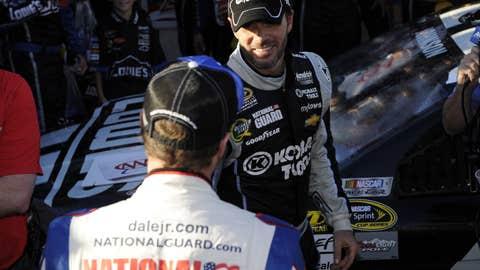 Jr. congratulates JJ