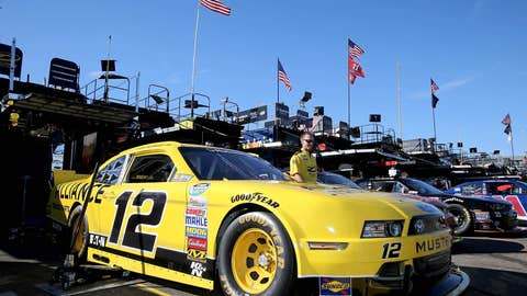 Sam Hornish is second in Nationwide Series points
