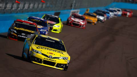 Kenseth is second in points