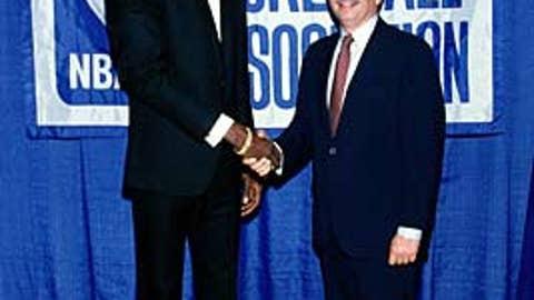 Akeem Olajuwon, 1984