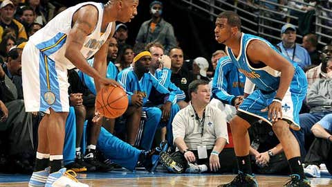 Can Chris Paul and the Hornets cool off Chauncey Billups?