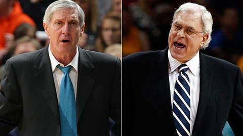 Jerry Sloan vs. Phil Jackson