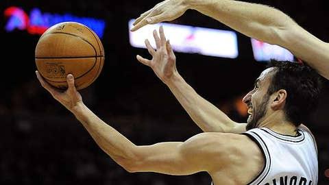 Manu Ginobili, SG, San Antonio Spurs