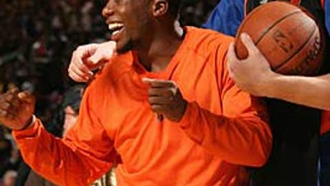 Nate Robinson and David Lee