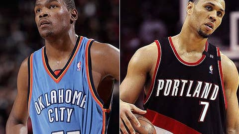 No: Kevin Durant and Brandon Roy