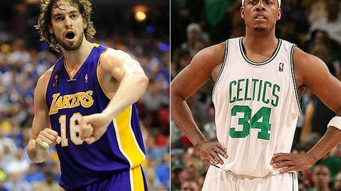 No: Pau Gasol and Paul Pierce