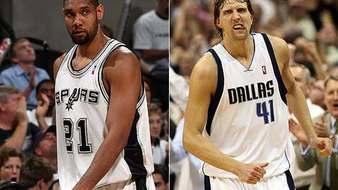 No: Tim Duncan and Dirk Nowitzki