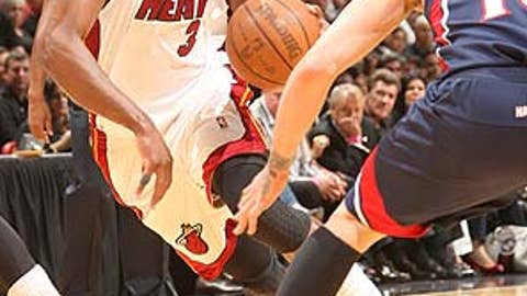 Yes: Dwyane Wade, Miami Heat
