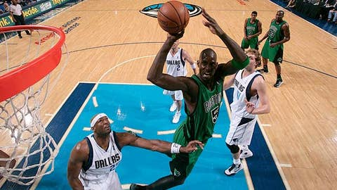 Yes: Kevin Garnett, Boston Celtics