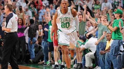 Can Ray Allen shoot down the Cavs?