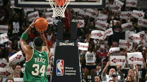 Focused on basket