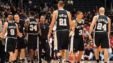 What happened to San Antonio's depth?