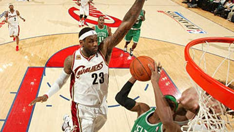 Will the Cavs sic LeBron on Rondo?