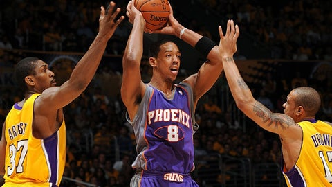 Did Channing Frye leave his shot in Phoenix?