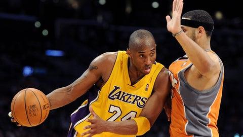 How many points will Kobe score?