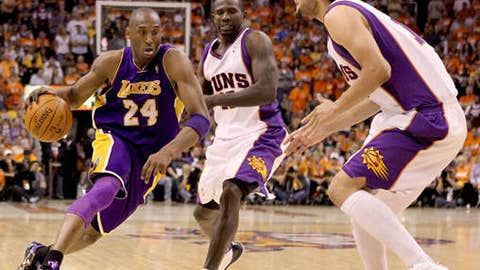 Will the Lakers bust Phoenix's zone?