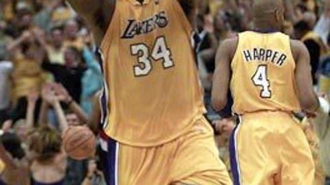Shaq slams door on Blazers, 2000 conference finals